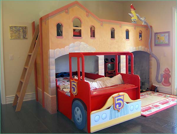 Bunkbeds - Fireman bunk bed ...
